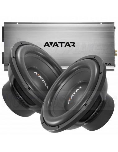 Avatar ATU-2000.1D + 2 x SST-2512D4
