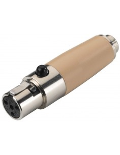Monacor NTA-4SH Adapter 4-pole mini XLR