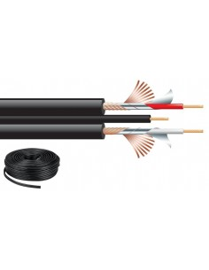"Monacor AC-53/SW Audio cable ""HIGHLY FLEXIBLE"""