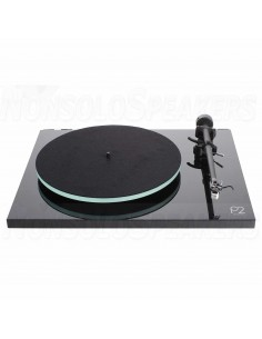 Rega Planar 2 turntable black with TA-Carbon incl.