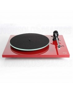 Rega Planar 2 turntable red with TA-Carbon incl.