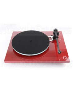 Rega Planar 3 Turntable red with RB330