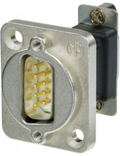 Monacor NADB-9MF 9-pole panel plug