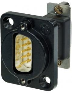 Monacor NADB-9MFB 9-pole panel jack
