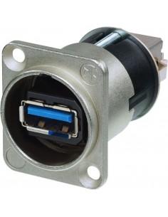 Monacor NAUSB-3 USB 3.0 feed-through panel jack