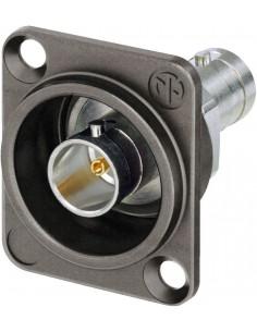 Monacor NBB-75DFIX UHD BNC panel jack 75 Ω insulated