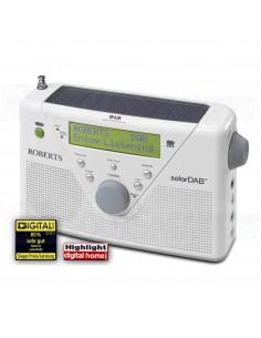 Roberts Radio SolarDAB 2 DAB+/DAB/FM white