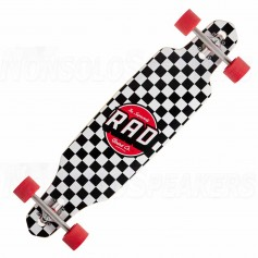 RAD Complete Longboard Wallpaper Orange