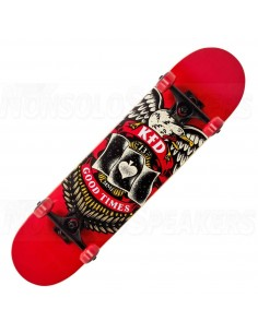 KFD Young Gunz Complete Skateboard red