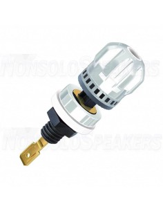 WBT-0703 CU W - White Terminal Copper Ø19mm Gold