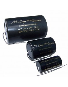 Mundorf SUP.SO-2,20 MCap Supreme Silver Gold Capacitors