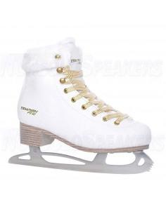 Tempish Fine Figure Skates White