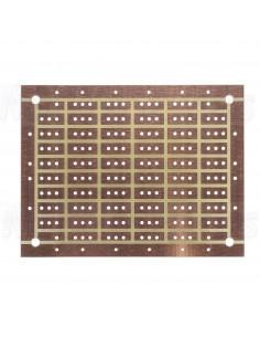 Epoxy glass fiber laminate circuit board 150 x 115 mm