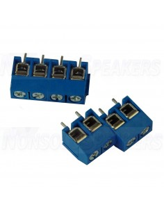 Terminal small 4 pole for PCB assembly & Circuit board
