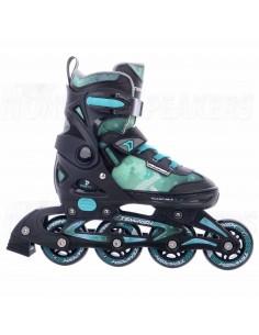 Tempish Dasty Adjustable Kids Inline Skates Black