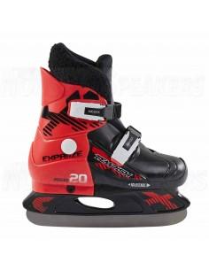 Tempish Fur Expanze Adjustable Kids Ice Skates Red