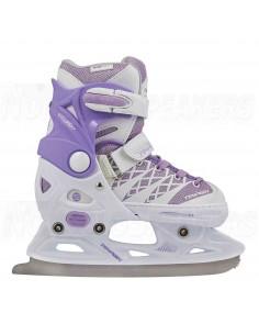Tempish Clips Adjustable Kids Ice Skates Purple