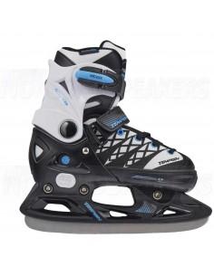Tempish Clips Adjustable Kids Ice Skates Black