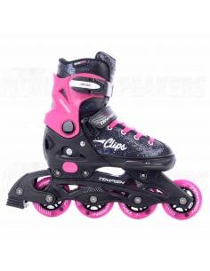 Tempish Clips Adjustable Kids Inline Skates Pink