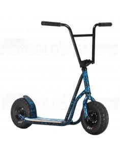 Rocker Rolla Big Wheel Scooter Blue Splatter