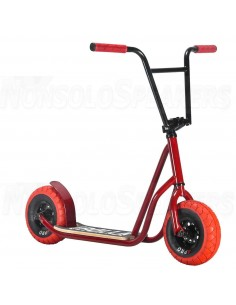 Rocker Rolla Big Wheel Scooter Red
