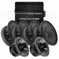 DEAF BONCE Apocalypse AP-M61AL + AAB-500.4D +AP-T25 NE