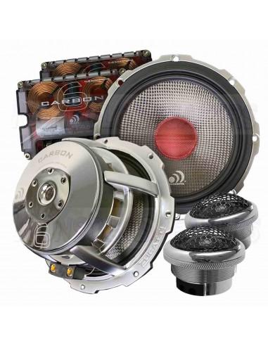 Massive Audio Carbon 6 kit 2 way 165mm