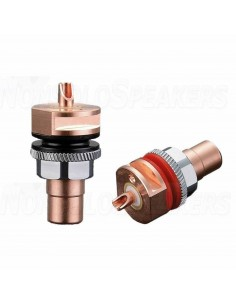 Viborg Audio RC101 panel RCA Pure copper 32.5mm (Pair)