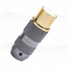 XF202G - XLR Female Pure Copper - Viborg- Gold Plated