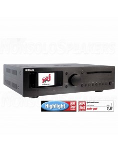 Block CVR-200 Blu-ray internet receiver Black