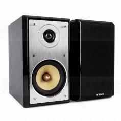 Block Audio S-50 black compact speakers