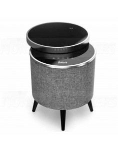 Block STOCKHOLM Bluetooth speaker table black