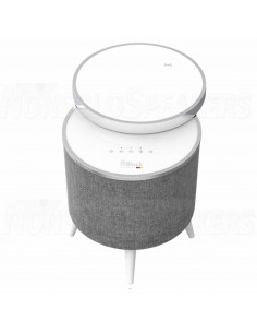Block STOCKHOLM Bluetooth speaker table white