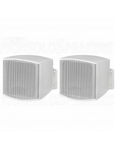 MONACOR EUL-26/WS Pairs of miniature PA speaker systems