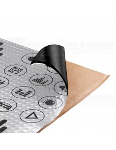 CTK STANDARD 370x500x2.5mm Damping material