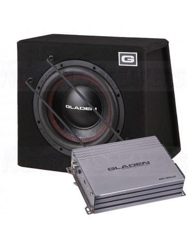 Gladen sub pack 8 RS-X 10 SB + RC 90c2