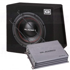 Gladen sub pack 8 RS-X 10 SB + RC 90c2