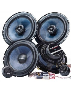 Gladen alpha 165 pack 1- kit 2 way + coaxial