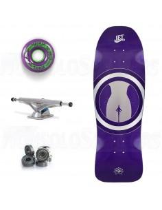 "Jet OverKill Revival 31"" JetGirl - Old School Skateboard Complete"
