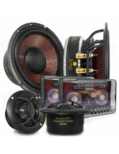 "Xcelsus Audio XXM 650.2 6,5"" kit 2 way speakers"
