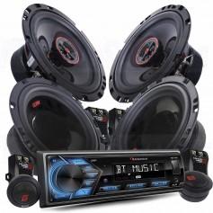 Nakamichi Radio Pack 2 Autoradio + speakers