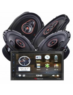 Nakamichi na3600 COAX PACK 2 radio + speakers