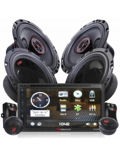 Nakamichi na3600 PACK 3 radio + speakers