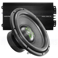 "Deaf Bonce Machete 10 amp-kit bass 10 ""+ Amplifier 550W"