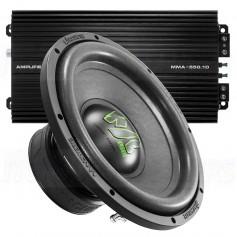 "Deaf Bonce Machete 12 amp-kit bass 12 ""+ Amplifier 550W"