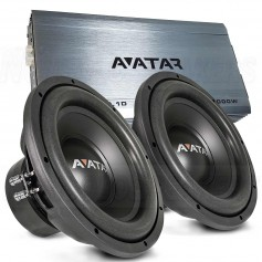 Avatar bass packet 1500W ampli + subwoofers