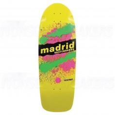 Madrid Marty Explosion Yellow - Old School Skateboard Deck