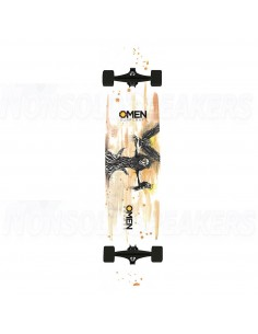"Omen Balance Drop Through 38.0"" - Longboard Complete"
