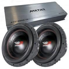 AVATAR BASSPACK VMAXX12 + ATU2000.1