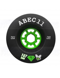 Abec11 Super Fly 107mm Black Wheels
